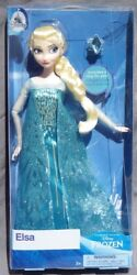 Elsa And Ring La The Snow Queen Frozen 2 Doll Classic Disney Store 2019 Nrfb