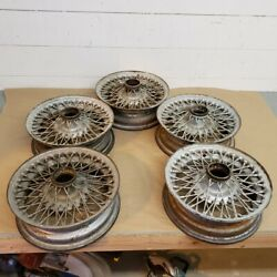 Oem Sunbeam Alpine Wire Wheel 13 X 4 60 Spoke Set Of 5 Original Part