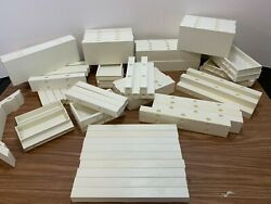 Playmobil White Replacement Spare Parts Assorted Pieces School / Hospital Etc