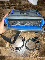 Sounddevices 442 Sound Mixer With Protective Case 2 Ta3f-ta3f And 2 Ta3-xlr.