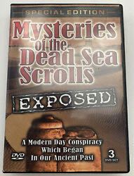 Mysteries Of The Dead Sea Scrolls Exposed - The Complete Three Tape Set New Dvd