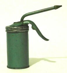 Trigger Pump Oil Can 4 Man Cave Garage Office Decor Blue Green Small Working
