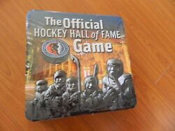 New Hockey Hall Of Fame Trivia Board Game Unplayed In Beautiful Metal Container