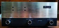 Vintage Mcintosh Mc2200 Stereo Power Amplifier Serviced And Recapped