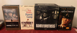 Lot Of Tom Hanks Movies 11 Vhs Tapes Band Of Brothers Saving Private Ryan