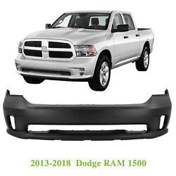Front Bumper Cover For 2013-2018 Dodge Ram 1500 Sport And Express 615343895277