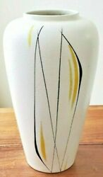 Modern 1960's Ceramic Foreign 517 38 Art Pottery Vase By Scheurich, Germany