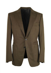 New Tom Ford Oand039connor Green Sport Coat Size 48 / 38r U.s. Fit Y Jacket Blazer