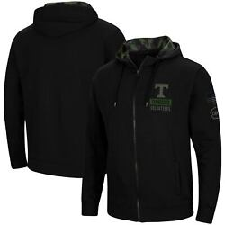Tennessee Volunteers Colosseum Oht Military Appreciation Camo Full-zip Hoodie -