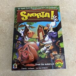 Snorta Family Game Complete 2007 Mattel Everyone Acts Like An Animal