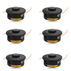 Trimmer Head 6 Pack For Stihl Trimmer Bump Heads Autocut 25-2 String Trimmers
