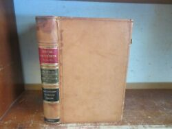 Old Navy / Army Register Leather Book 1900 Military Soldier Spanish-american War
