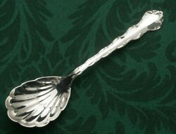 Tara By Reed And Barton Sterling Silver Berry Or Casserole Spoon 9.25