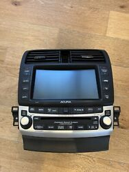 2006 - 2008 Acura Tsx Oem Navigation System Gps Radio 6 Cd Player With Code