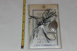 Vintage Roy Wilson Bait Co Bass Spinnerbait Fishing Lure Florence Al Unfished