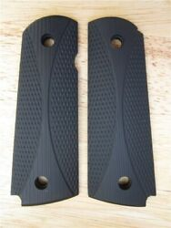 Colt 1911 Remington Micarta Hour Glass Grips Checkered Full Size Government