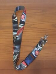 New Jagermeister Lanyard W/ Detachable Clip And Keychain Ring