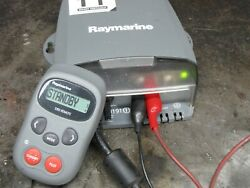 Raymarine S1000 Autopilot Computer With S100 Remote Cable And Manual