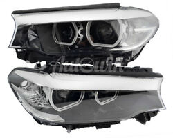 Bmw 5 Series G30 G31 Led Headlight Set Right And Left Side Genuine Oem New