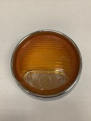 New Nos Lucas Front Turn Signal Lens 54573428 Volvo P1800 1963-1968 L714 Lamp