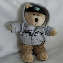 Starbucks Special Edition 2006 Stuffed Plush Bearista Teddy Bear Washington Dc