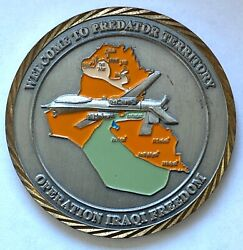 Cia Usaf Drone Program Welcome To Predator Territory Oef Challenge Coin