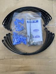 Four Tyron Tire Bands For 16andrdquo Aluminum And Steel Rims With Spider Installation Kit