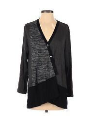 Christopher Calvin Women Black Cardigan S $33.99