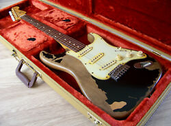Tpp John Mayer / Blk1 Black One Fender Usa 60and039s Stratocaster Tribute Big Dippers