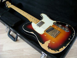 Tpp Andy Summers Police Fender Usa Custom And03962 Telecaster Tribute - Relic