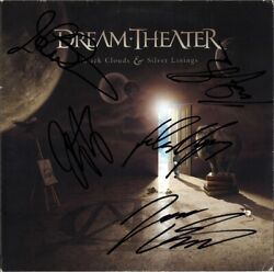 Dream Theater Black Clouds And Silver Linings Fully Signed Vinyl Lp John Autograph