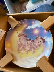 Hamilton Collectable Plate By The Light Of The Moon From The Dreamsicles