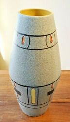 Modern 1960's Ceramic Foreign 248 38 Art Pottery Vase By Scheurich, Germany