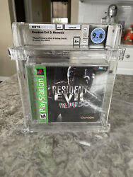 Brand New Playstation 1 Ps1 Game Resident Evil 3 Wata 9.8 A+