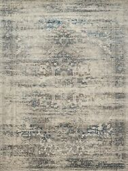 New 9x13 Taupe And Ivory Medallion Heirloom Style Powerloomed Oriental Area Rug