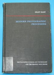 Modern Photographic Processing Vol 2 By Grant Haist 1979 Impossible To Find