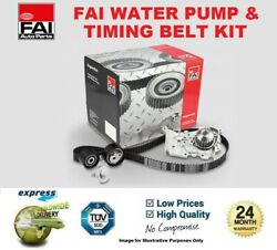 Fai Water Pump And Timing Belt Kit For Iveco Daily Box Estate 29l 12v 2002-2007