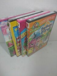 Dvd Barney And Friends Dvd Lot Of 4 Kids Educational Tv Shows Sealed New