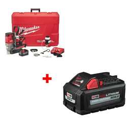 Milwaukee 2787-22hd M18 1-1/2 Magnetic Drill Kit W/ Free 48-11-1865 Battery
