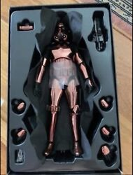Hot Toys 1/6 Star Wars Mms330 Stormtrooper Copper Chrome Ver Action Figure