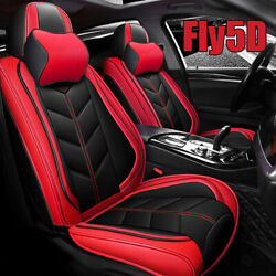 100 Pu Leather Car Luxury Cushion Protector 5-seat Cover Plus Universal Padded