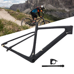 Carbon Fiber Bike Front Fork Frame Tool For Mountain Bicycle Cycling 17/19inches
