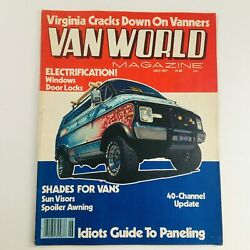 Van World Magazine July 1977 Shades Visor For And Idiots Guide To Paneling