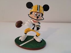 New Disneyand039s Mickey Mouse Nfl Green Bay Packers Figurine