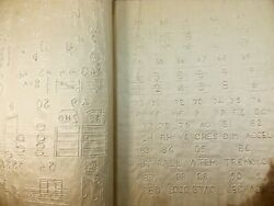 X Rare Book - 1879 Musical Characters For Blind - Braille Music - Only 2 Known