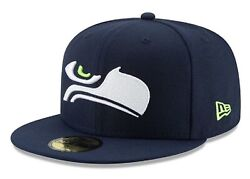 Official Logo Elements Collection Seattle Seahawks New Era 59fifty Fitted Hat