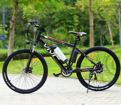 Vivi 26 350w Electric Bike Mountain Bicycle Ebike Shimano 21speed 36v H 84