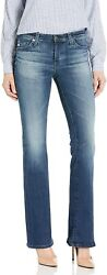 Ag Adriano Goldschmied Womenand039s Angel Mid Rise Bootcut Jean