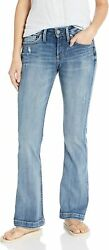 Silver Jeans Co. Womenand039s Suki Curvy Fit Mid Rise Bootcut Jeans