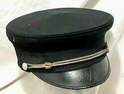 Antique Early 20th Century Knights Templar Masonic Hat No Front Badge.